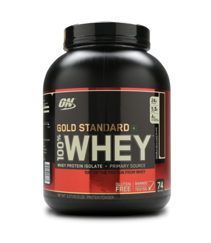 Optimum Nutrition (ON) 100% Whey Gold Standard 5 LB , DOUBLE RICH CHOCOLATE