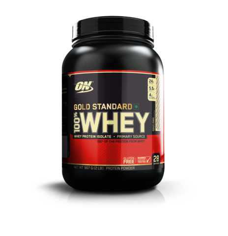 Optimum Nutrition 100% Whey Gold Standard 2 LB , ROCKY ROAD