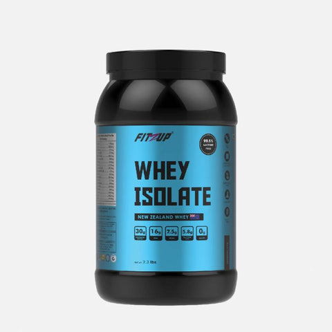 FitZup Whey Isolate Chocolate Flavour Whey Protein (2.3 pounds. Chocolate)