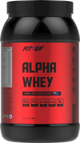 FitZup Alpha Whey Chocolate 2.3 lbs Whey Protein (2.3 pounds. Chocolate)