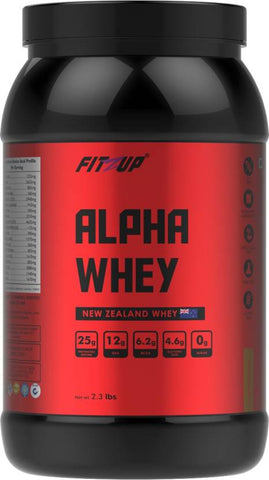 FitZup Alpha Whey Cappuccino Whey Protein (2.3 pounds. Cappuccino)