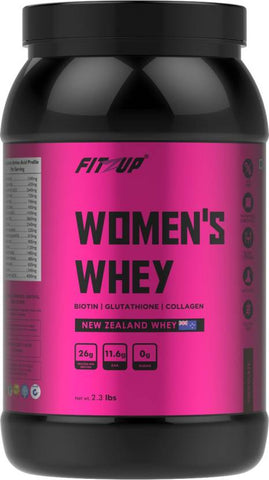 FitZup Womens Whey Chocolate Flavour Whey Protein (2.3 pounds. Chocolate)