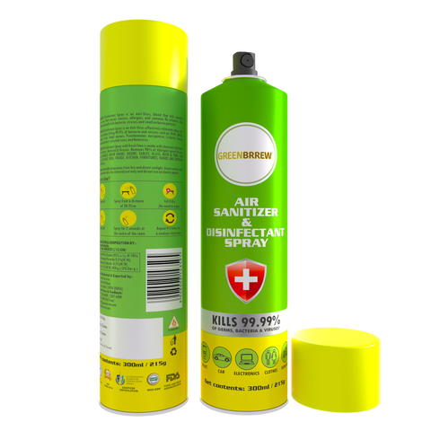 Air Sanitizer & Disinfectant Spray