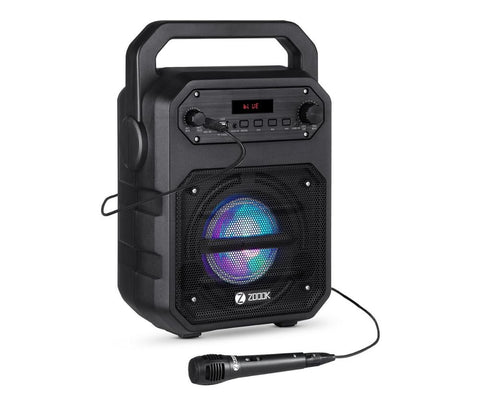 ZOOK BLUETOOTH SPEAKER WITH KARAOKE MIC ZB-ROCKER THUNDER