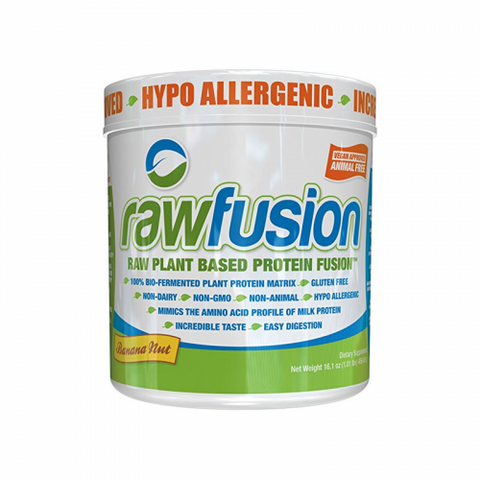 RawFusion By SAN – Raw Plant Based Protein