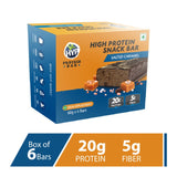 HYP Meal Replacement Whey 20g Protein Bar Pack of 6 (60g x 6) Salted Caramel