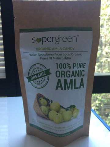 SuperGreen Organic Amla Candy ( 100g )
