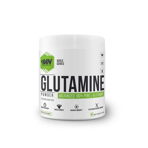 Muscle Nectar Micronised 100% Pure L-Glutamine 300g Unflavoured