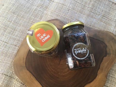 My Mom's Cacao Orange Granola – 200 GMS Jar