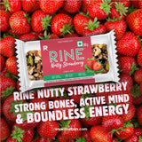 RINE BARS NUTTY STRAWBERRY(Pack of 6)