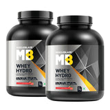 MuscleBlaze Whey Hydro 4.4 lb Strawberry  - Pack of 2