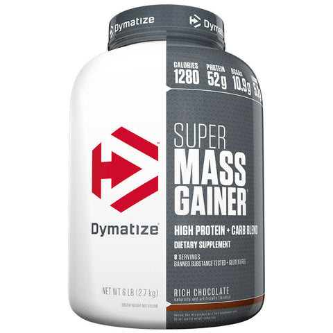 Dymatize Super Mass Gainer, 6 lb Rich Chocolate