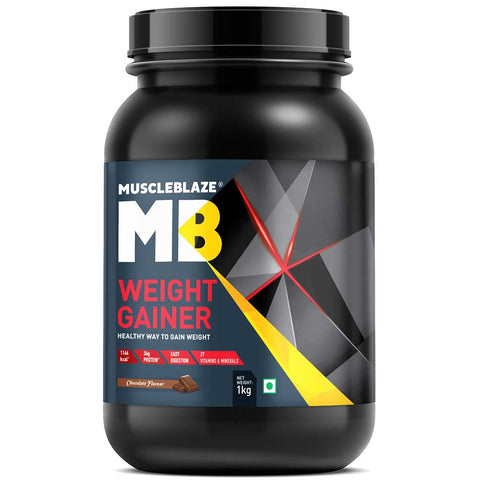 MuscleBlaze Weight Gainer with Added Digezyme