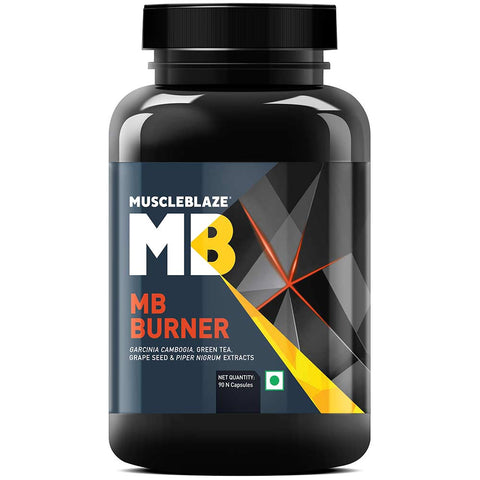 MuscleBlaze MB Fat Burner with Garcinia Cambogia, 90 capsules Unflavoured