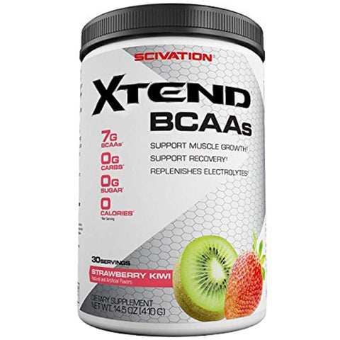 Scivation Xtend BCAA (Intra Workout Catalyst), 0.9 lb Strawberry Kiwi