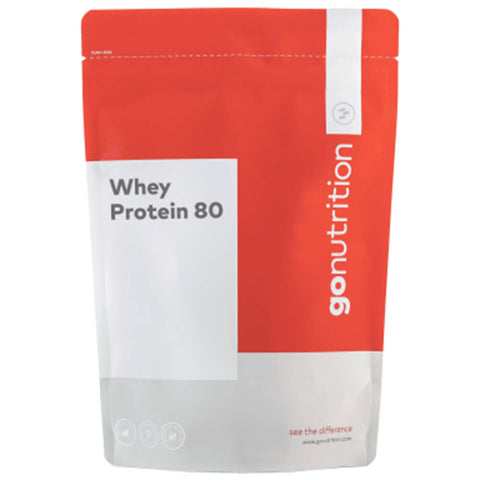 GoNutrition Whey Protein 80, 5.5 lb Strawberries & Whipped Cream