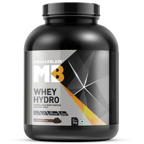 MuscleBlaze Whey Hydro, 4.4 lb Chocolate