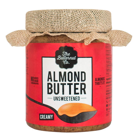 The Butternut Co. Unsweetened Almond Butter, Creamy 0.2 kg