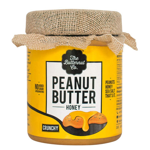 The Butternut Co. Honey Peanut Butter, 0.2 kg Crunchy