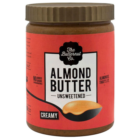 The Butternut Co. Unsweetened Almond Butter, Creamy 1 kg