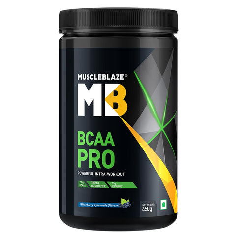 MuscleBlaze BCAA Pro, 0.99 lb Blueberry Lemonade