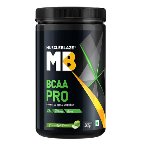 MuscleBlaze BCAA Pro, 0.99 lb Green Apple