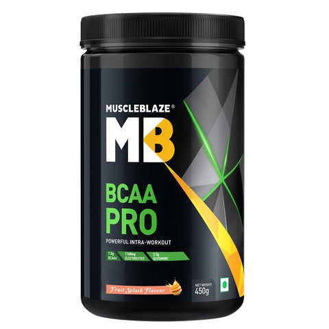 MuscleBlaze BCAA Pro, 0.99 lb Fruit Splash