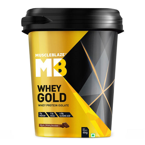 MuscleBlaze Whey Gold with Digezyme