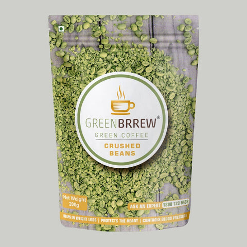 Green Coffee Crushed Beans, 200g