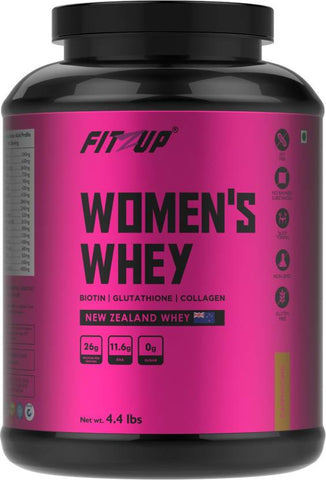FitZup Womens Whey Whey Protein (4.4 pounds. Cappuccino)