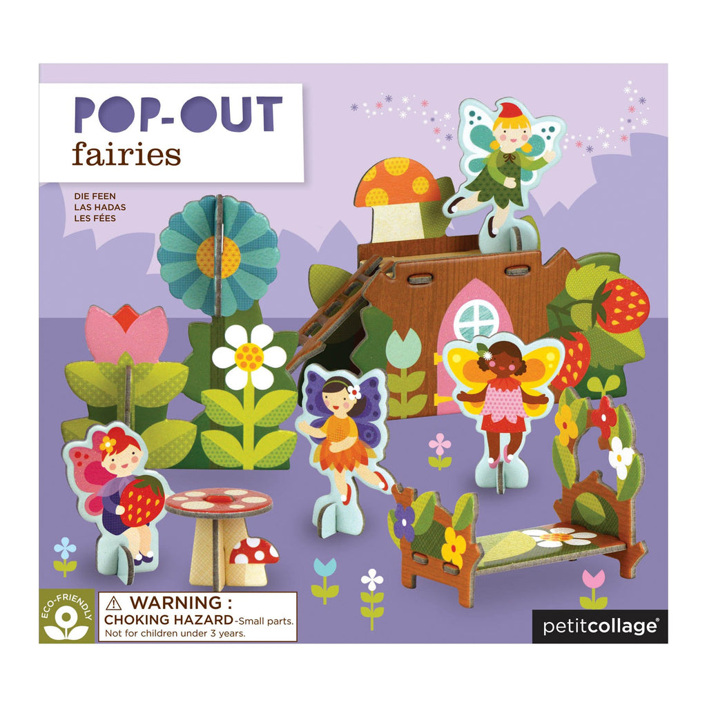 Pop Out Fairy Characters