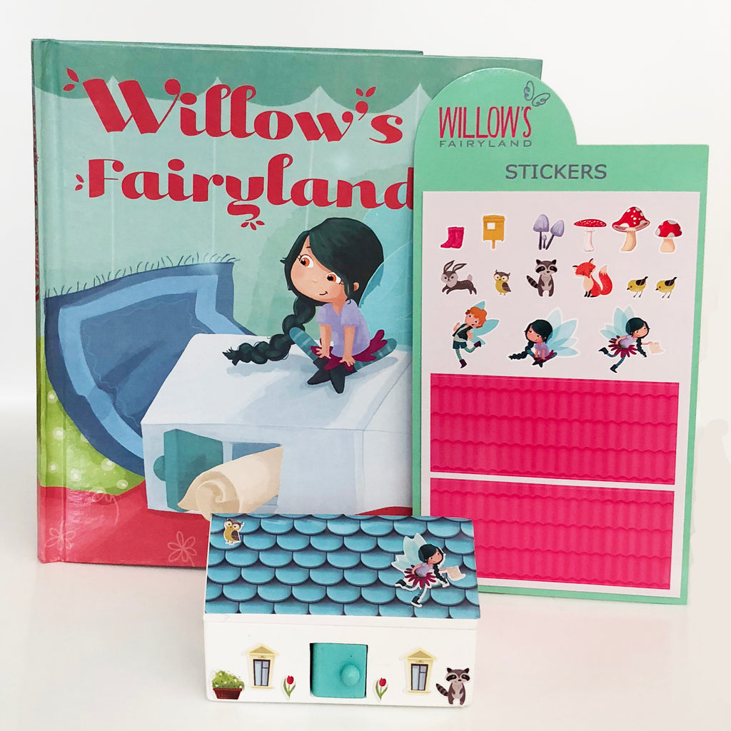 Willow's Fairyland Small Gift Pack - Mint Door