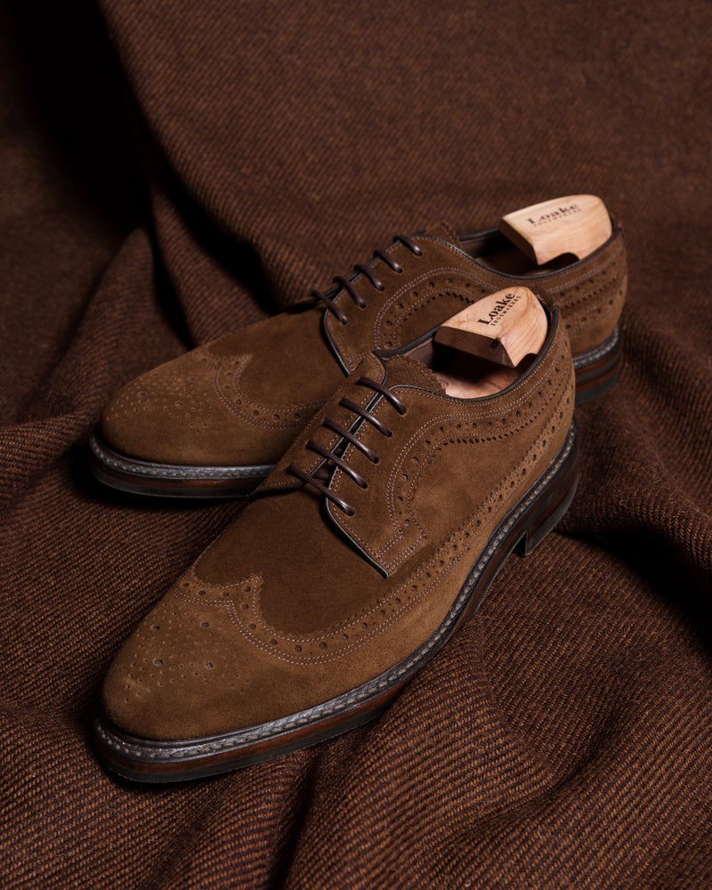 Birkdale Brown Suede