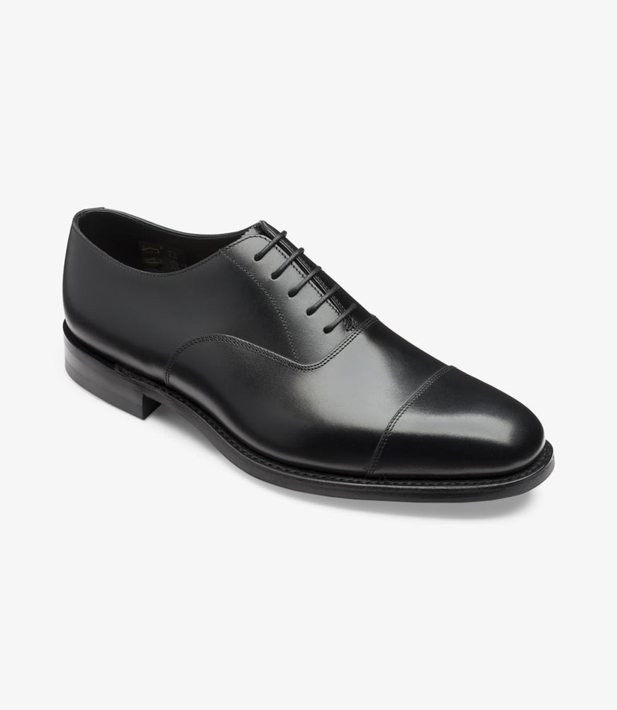 Loake 1880 Aldwych Black Calf With Dainite