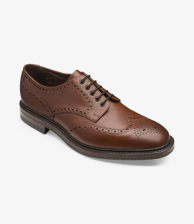 Loake 1880 Badminton Dark Brown Grain