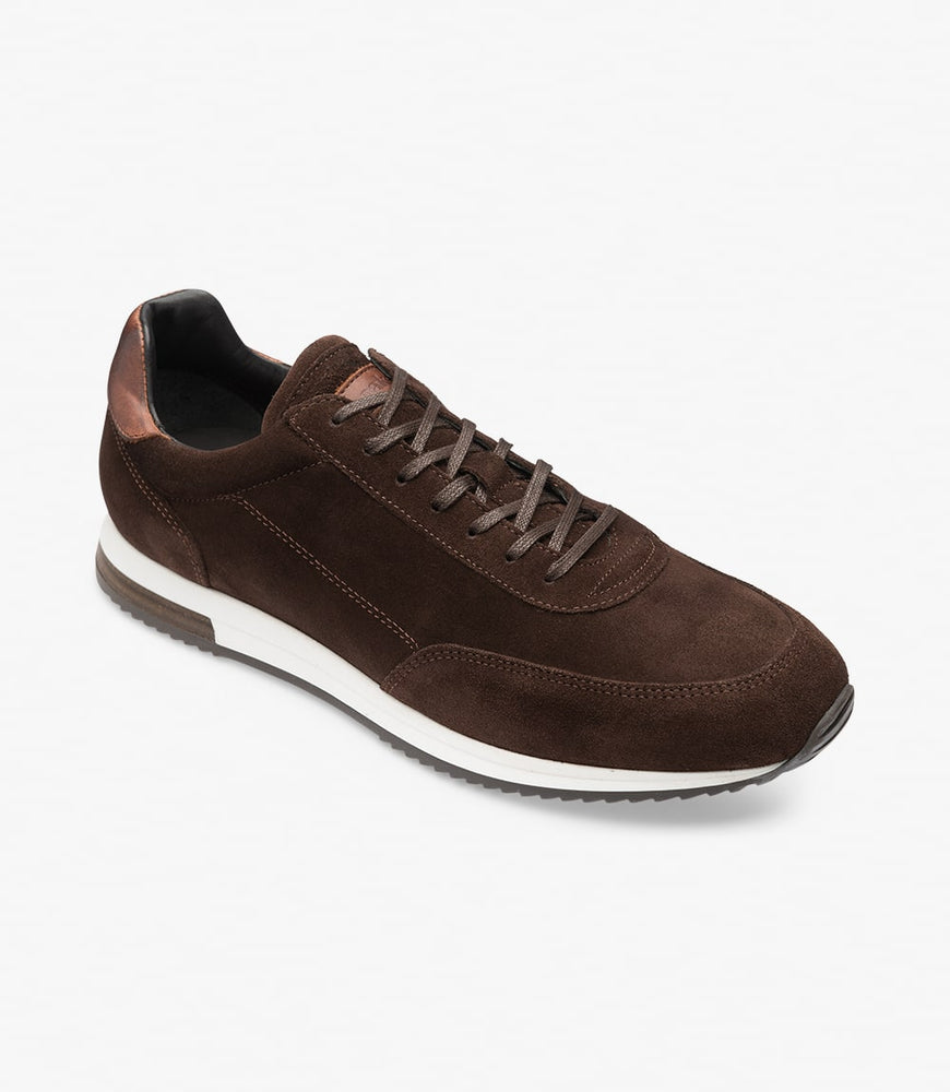Loake Bannister Dark Brown Suede