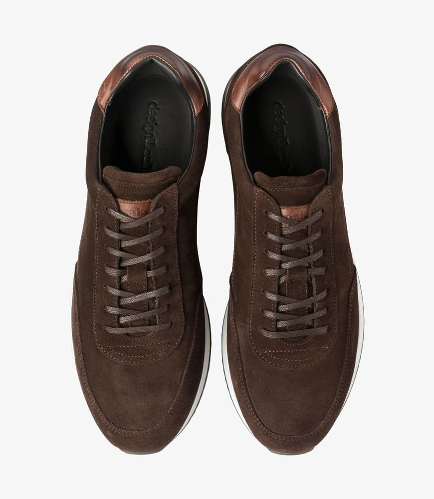 Load image into Gallery viewer, Loake Bannister Dark Brown Suede