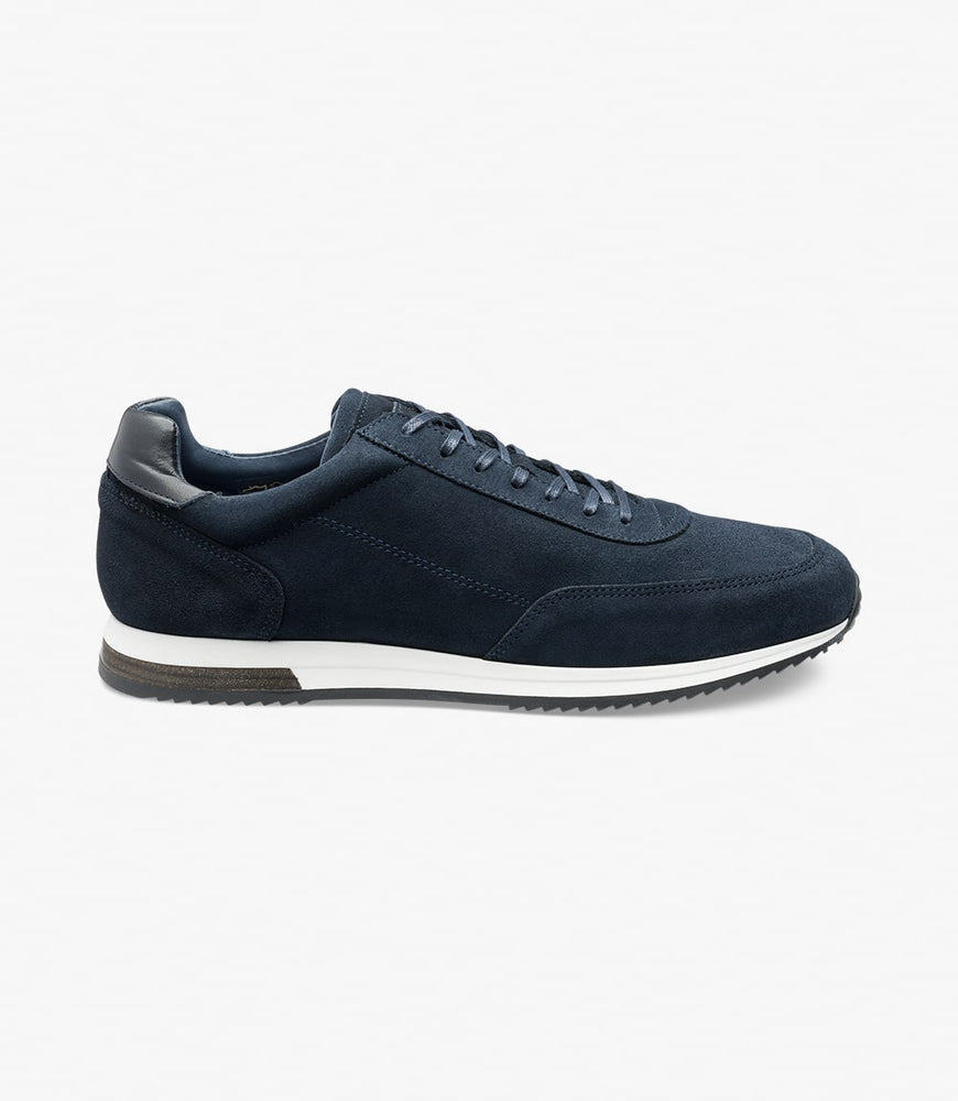 Load image into Gallery viewer, Loake Bannister Navy Suede