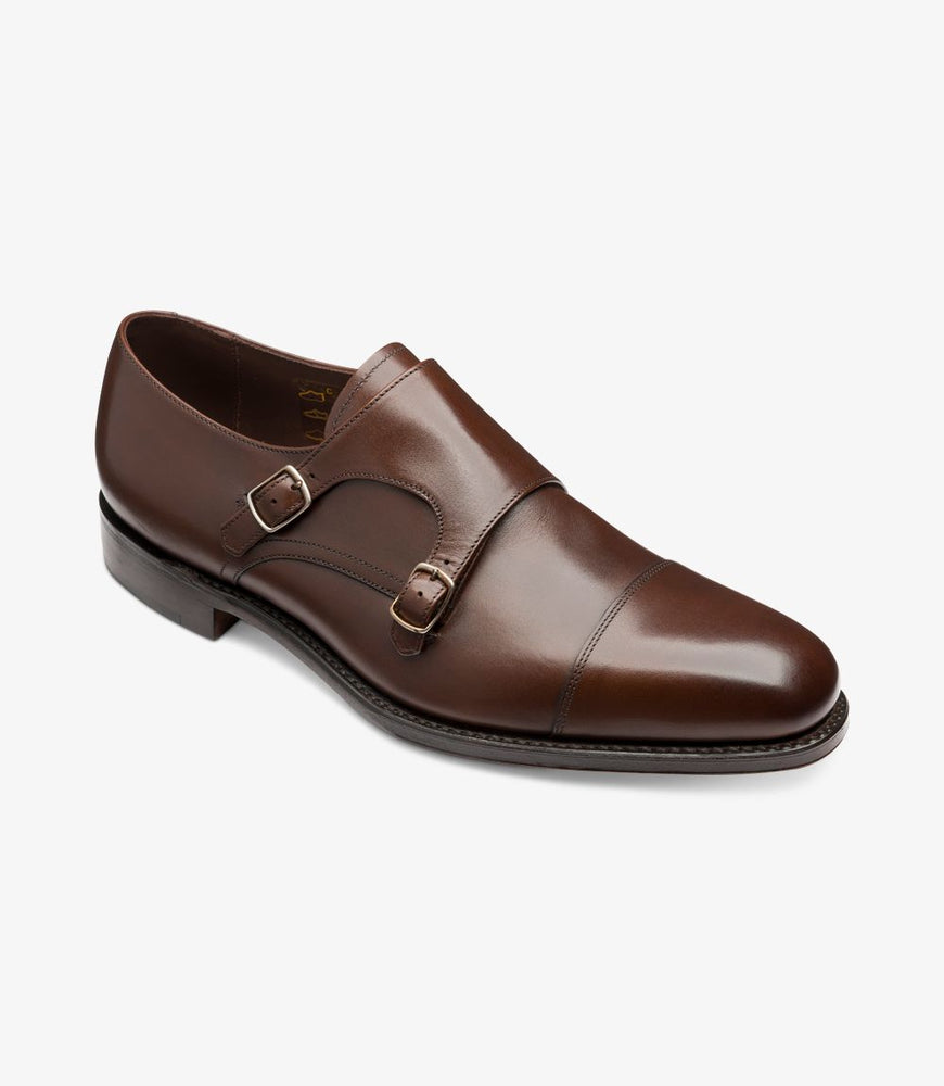 Loake 1880 Cannon Dark Brown Calf
