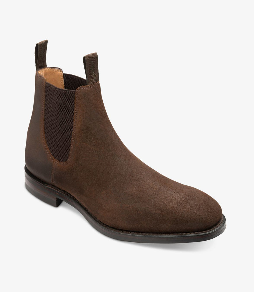 Load image into Gallery viewer, Loake 1880 Chatsworth Brown Waxy Suede