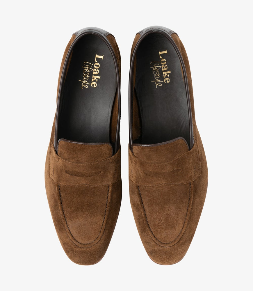 Load image into Gallery viewer, Loake Darwin Tan Suede