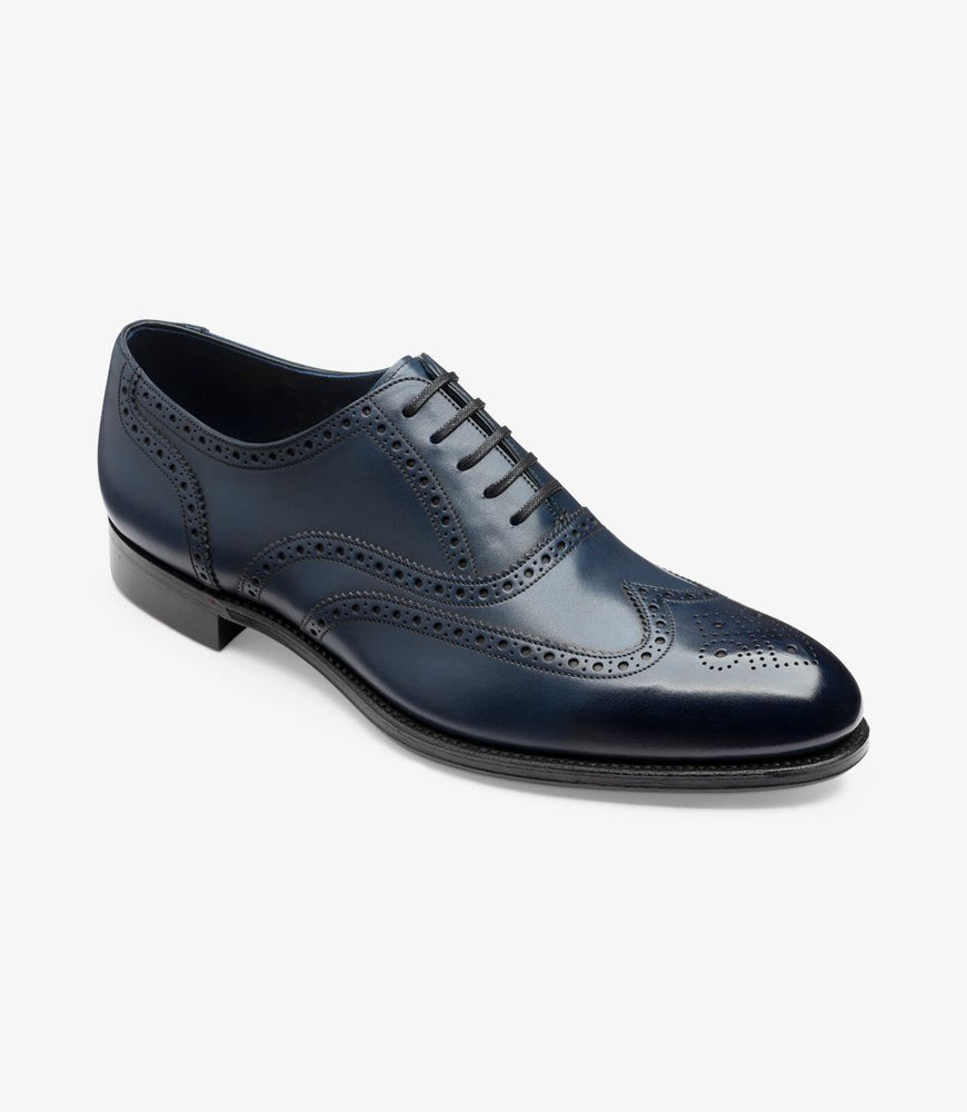 Loake Export Grade Torrington Navy Antique