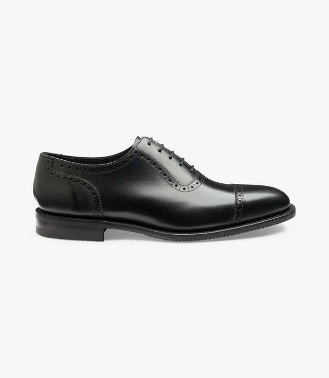 Loake 1880 Fleet Black Calf
