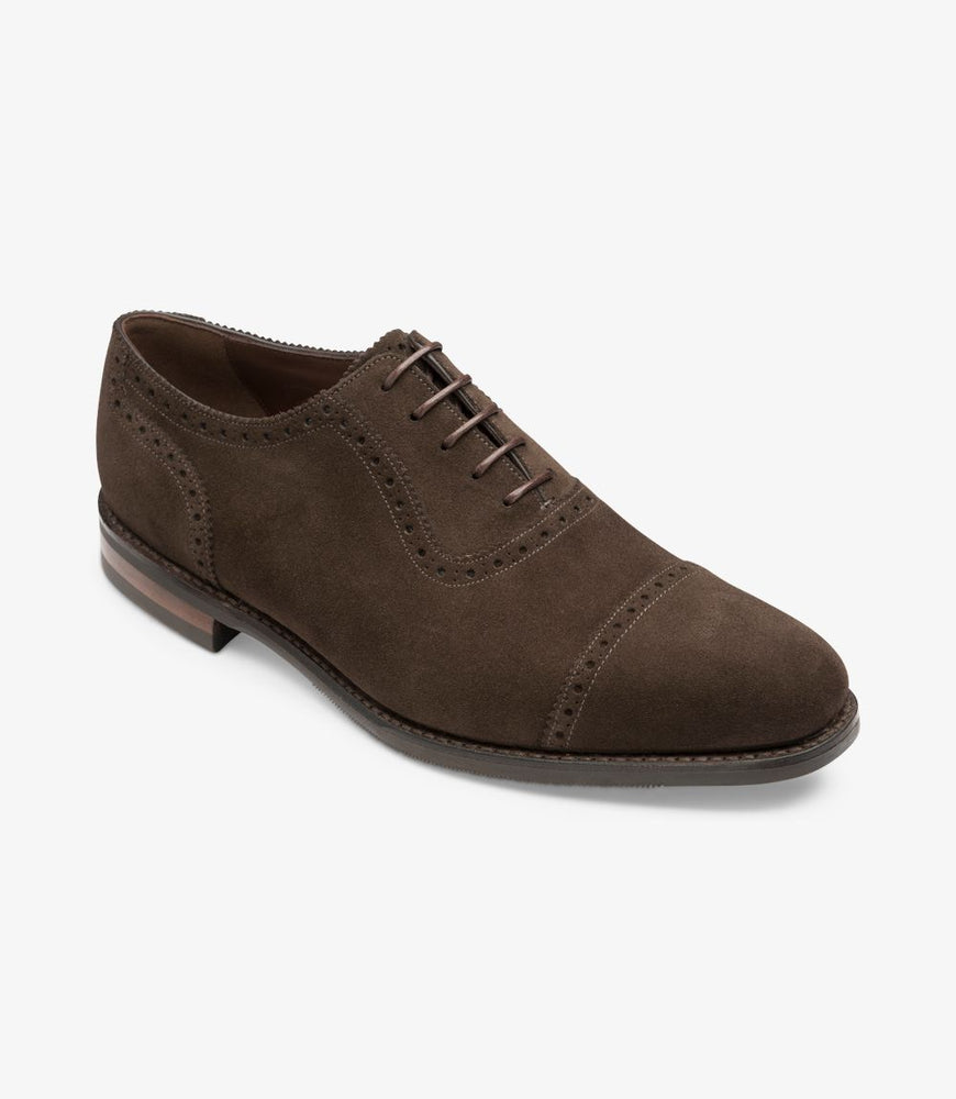 Loake 1880 Fleet Dark Brown Suede