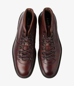 Load image into Gallery viewer, Loake 1880 Hiker Boot Oxblood Grain