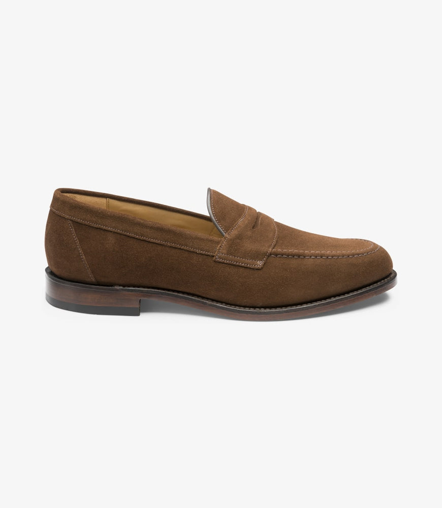 Load image into Gallery viewer, Loake Imperial Brown Suede