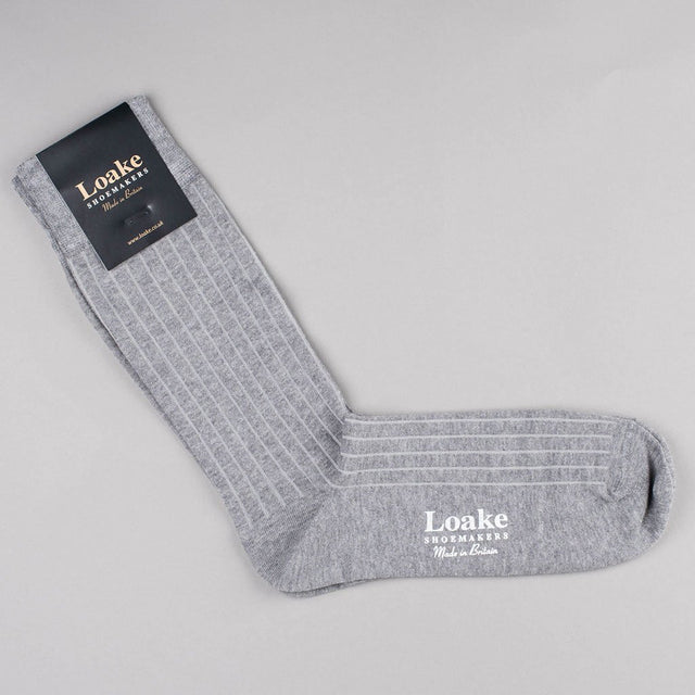 Loake Muirfield Cotton Socks - Grey