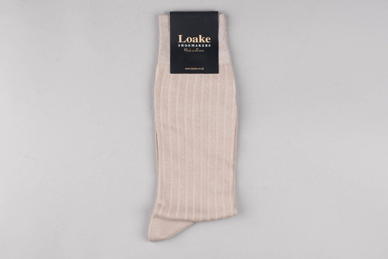 Loake Muirfield Cotton Socks - Sand
