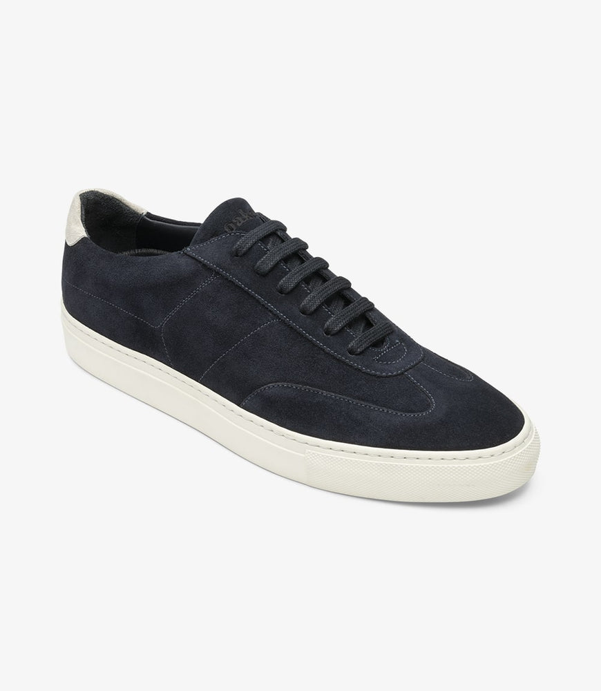 Loake Owens Navy Suede