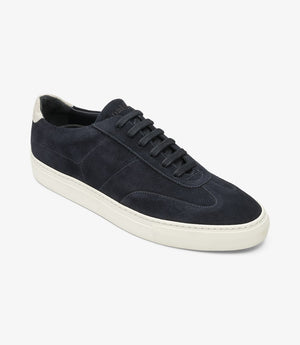 Load image into Gallery viewer, Loake Owens Navy Suede